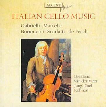 Italian Cello Music